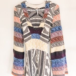 Free people patch work dress